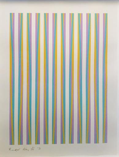 布里奇特•赖利 - 版画 - Untitled (Chicago 8)