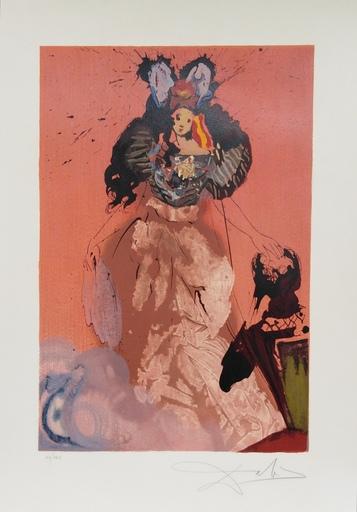 Salvador DALI - Print-Multiple - Dulcinea