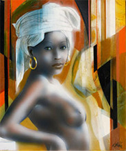 Jean-Baptiste VALADIÉ - Pintura - Lumière d'Afrique