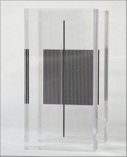 Jesús Rafael SOTO - Skulptur Volumen - Vibracion en la masa transparente