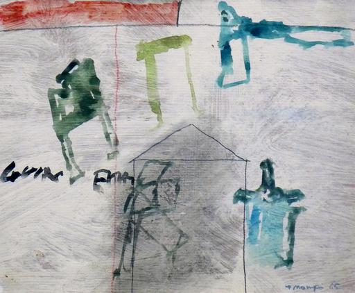 Manuel HERNÁNDEZ MOMPO - Painting - Sin Título