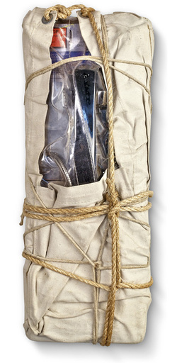 CHRISTO - Sculpture-Volume - Wrapped Payphone