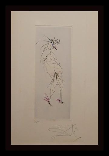 萨尔瓦多·达利 - 版画 - Faust Vignettes Grotesque