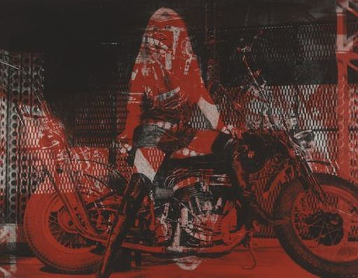 Russell YOUNG - Estampe-Multiple - Bridget Bardot Motorcycle