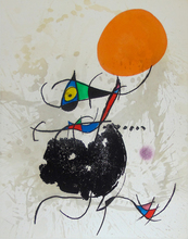 Joan MIRO (1893-1983) - Reaching Earth and Sun Intact | Terre Atteinte et Soleil Int