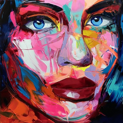 Françoise NIELLY - Painting - RUTH