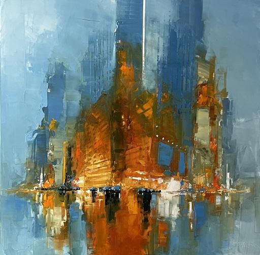 Daniel CASTAN - Peinture - Big Apple