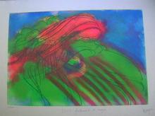 Jean MESSAGIER - Print-Multiple - 3272 frottements des nuages