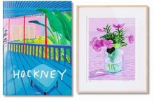 David HOCKNEY - Estampe-Multiple - A Bigger Book + 1 print