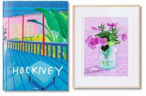 David HOCKNEY - Print-Multiple - A Bigger Book + 1 print