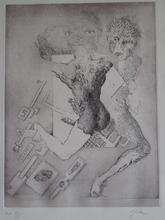 LJUBA - Grabado - GRAVURE 1975 SIGNÉE AU CRAYON NUM EA /XX HANDSIGNED ETCHING