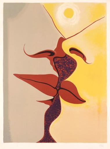 MAN RAY - Estampe-Multiple - Image à deux faces, 1971