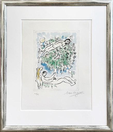 Marc CHAGALL - Stampa-Multiplo - Der Paradiesbaum (L´arbre fleuri)