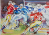 Christian JAUREGUY - Dessin-Aquarelle - Football américain