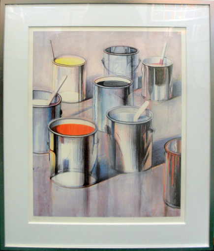 Morton Wayne THIEBAUD - Print-Multiple - PAINT CANS