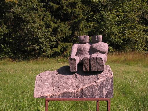 Viktor Ivanovich KORNEEV - Escultura - Starlight Night