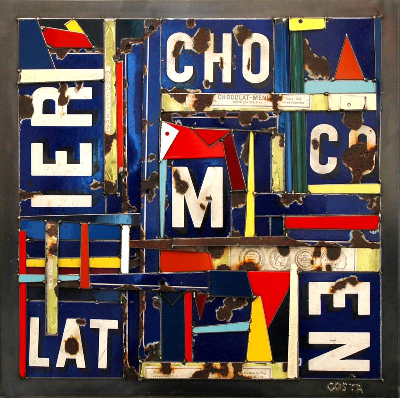Fernando DA COSTA - Sculpture-Volume - Chocolat Meunier