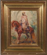 Henri Émilien ROUSSEAU - Pintura - Arab rider
