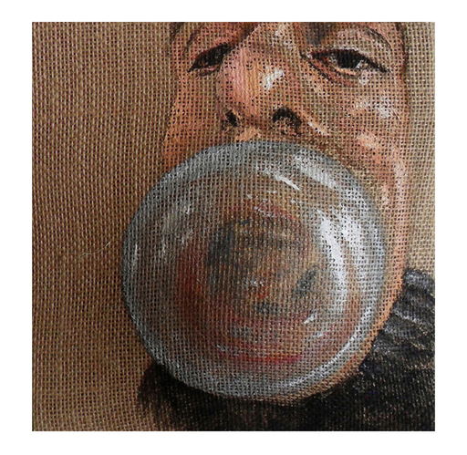 Maurizio CARIATI - Painting - Big bubble man!
