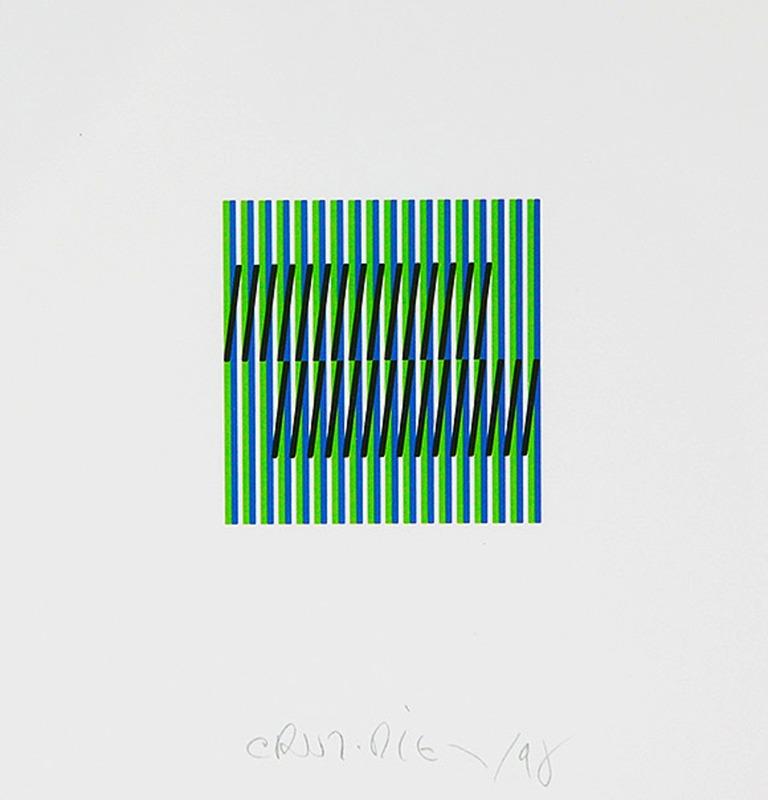 Carlos CRUZ-DIEZ - Estampe-Multiple