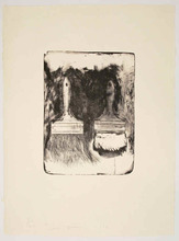Jim DINE - Stampa Multiplo - Brush Drawn on Stones #5