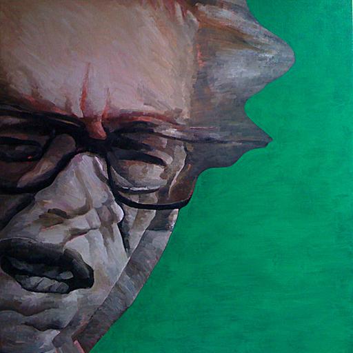Robert DRAGOT - Pintura - Mister Ismail Kadaré