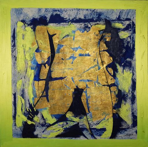 Corine LESCOP - Peinture - Femme Puzzle