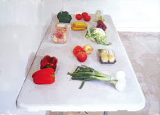 Eduardo MILLAN - Painting - Frutas y Verduras