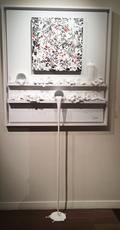 Paul SIBUET - Sculpture-Volume - Flow 59 - Hommage à Pollock