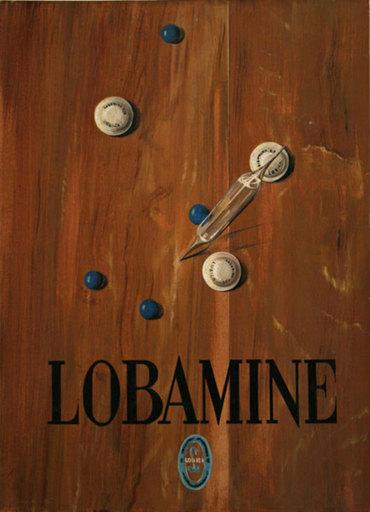 Georges CHAVANNE - Pittura - Publicité LOBAMINE