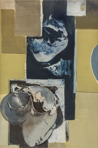Mario BIONDA - Painting - Senza titolo