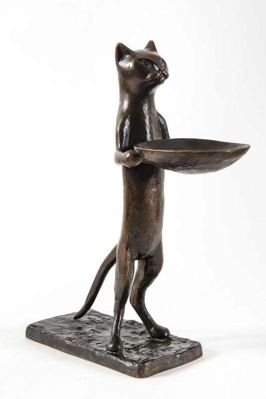 Diego GIACOMETTI - Sculpture-Volume - Chat maître d'hôtel