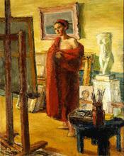 Auguste DUREL - Painting - L'atelier (N° 68)