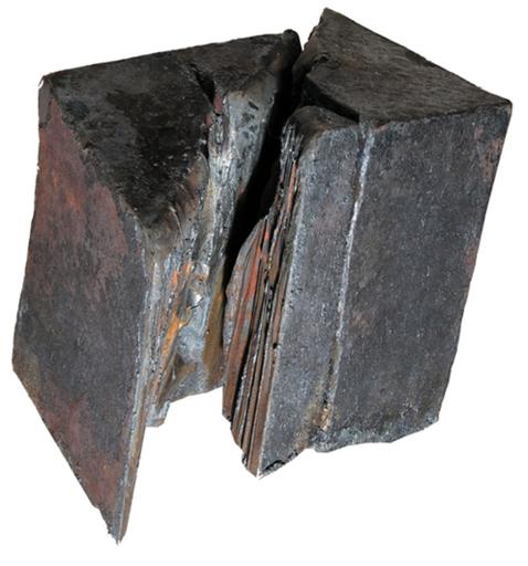 Giuseppe SPAGNULO - Escultura - Cubo spezzato