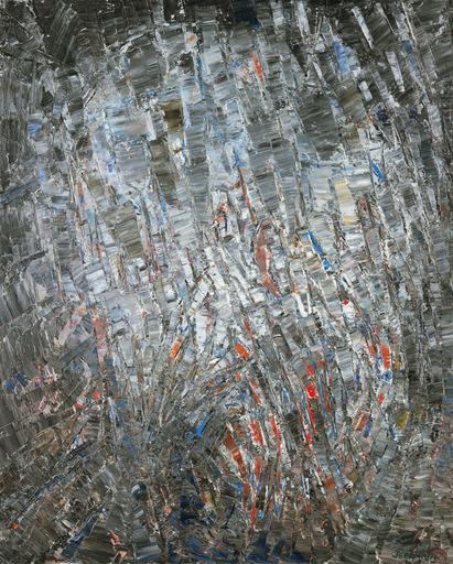 Jacques GERMAIN - Peinture - Composition, 1973
