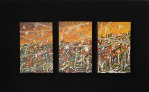 Daniel FILLOD - Painting - les trois compositions