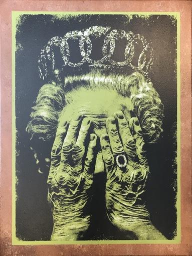 Guy K - Pittura - Cruel Britannia - Her Royal Heinous