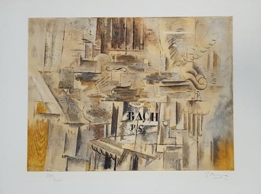 Georges BRAQUE - Print-Multiple - Hommage à J.-S. Bach