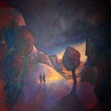 Francis BERTHAULT - Peinture - crepuscule retrouvee