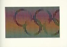 Carlos CRUZ-DIEZ - Estampe-Multiple - BARCELONA  JO  (1992)