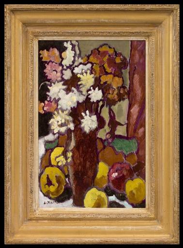 路易斯·瓦尔塔 - 绘画 - Le Vase de Fleurs