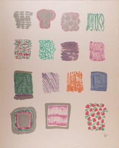 Pietro CONSAGRA - Painting - Composition, 1974