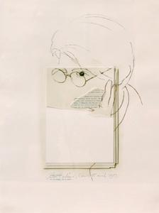 Giulio PAOLINI - Pittura - Ni le soleil, ni la mort...