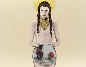 Sandra ACKERMANN - Painting - Heilig - für immer
