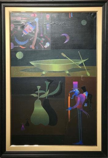 Joan PONÇ - Painting - La Roca