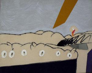 Concetto POZZATI - Painting - Paesaggio impossibile