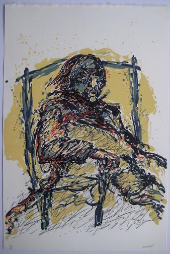 Gérard EPPELE - Druckgrafik-Multiple - LITHOGRAPHIE SIGNÉE AU CRAYON NUM/99 HANDSIGNED LITHOGRAPH
