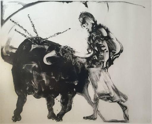 Miquel BARCELO - Grabado - Tauromaquia - Lanzarote 55