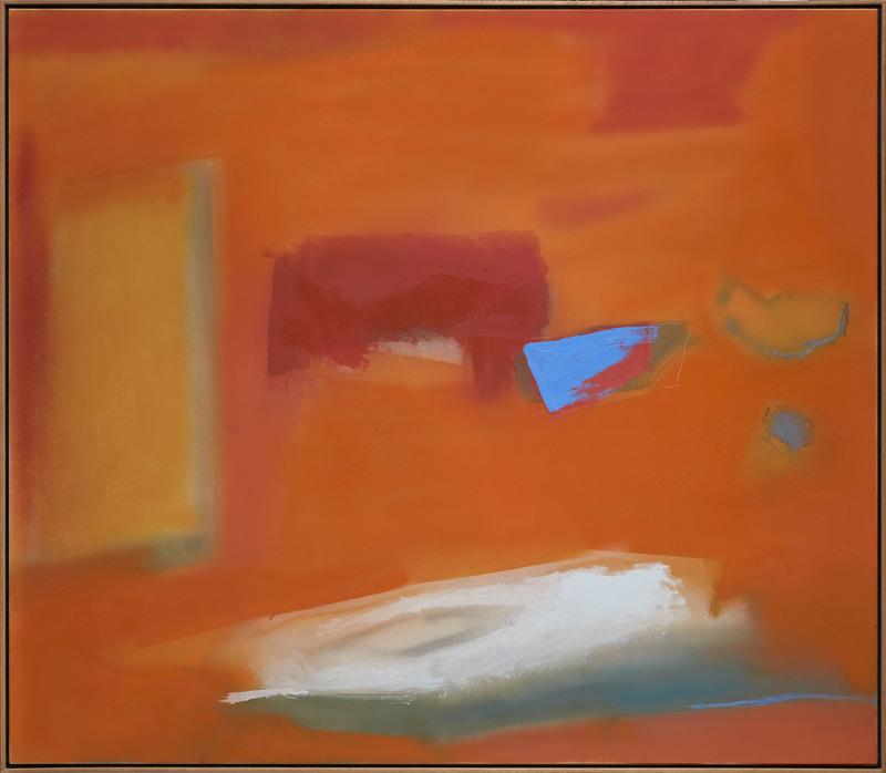 Esteban VICENTE - Pintura - Focal point