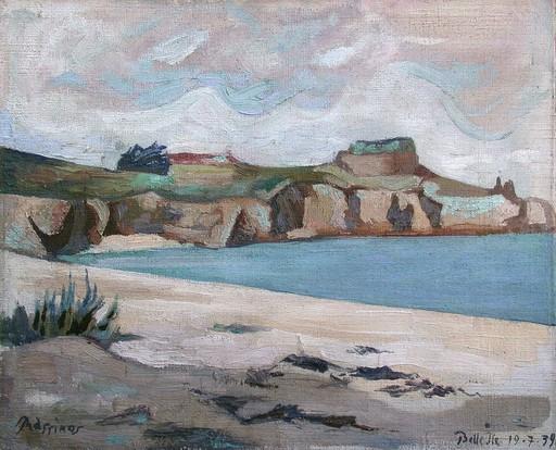Mario PRASSINOS - Painting - Belle-Ile-en-Mer